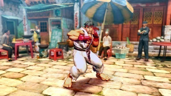 Pr�gelspiel Street Fighter 4: Karate © Capcom