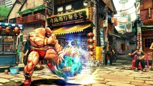 Pr�gelspiel Street Fighter 4: Kugel © Capcom