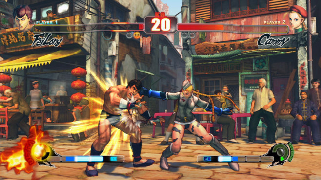 Prügelspiel Street Fighter 4: Nahkampf © Capcom