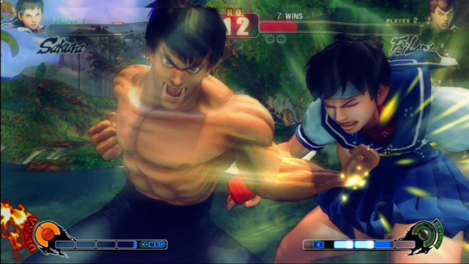 Pr�gelspiel Street Fighter 4: Schlag © Capcom