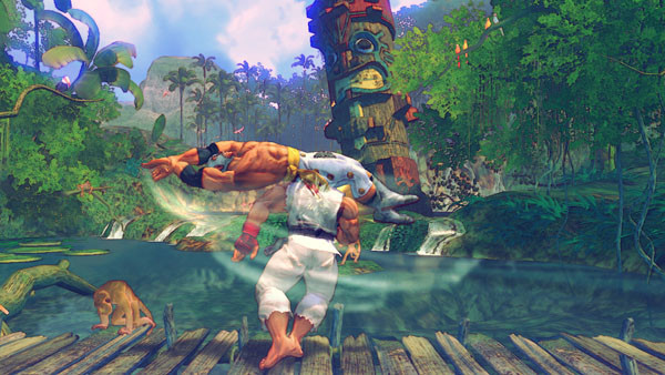 Pr�gelspiel Street Fighter 4: See © Capcom