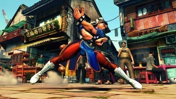 Pr�gelspiel Street Fighter 4: Spagat © Capcom