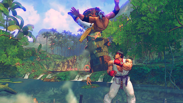 Pr�gelspiel Street Fighter 4: Sprung © Capcom