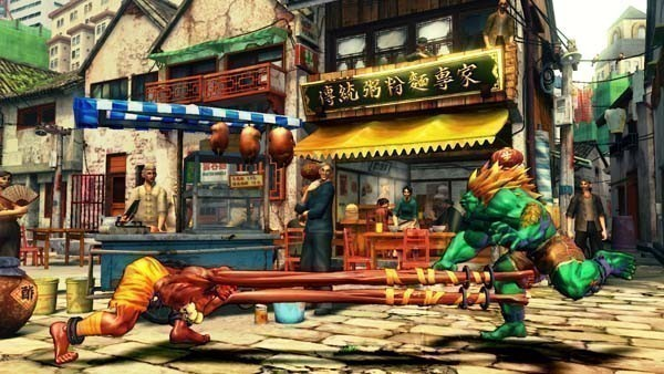 Pr�gelspiel Street Fighter 4: Yoga © Capcom