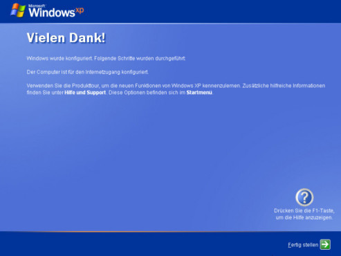 So installieren Sie Windows XP