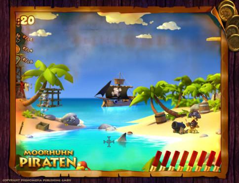 Moorhuhn-Special: Moorhuhn Piraten