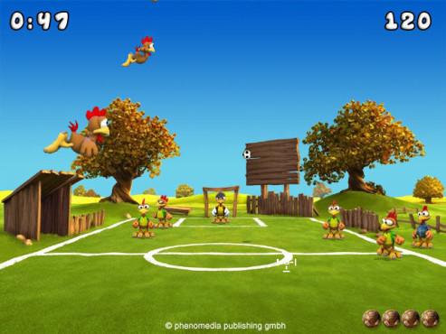 Moorhuhn-Special: Moorhuhn Soccer