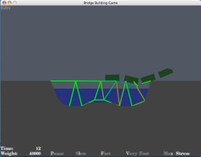 Bridge Building Game (Mac)