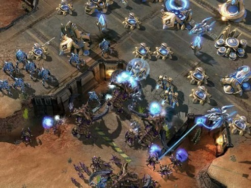 Strategiespiel Starcraft 2: Basis © Blizzard