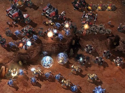 Strategiespiel Starcraft 2: Farbe © Blizzard