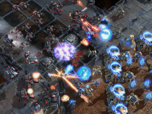 Strategiespiel Starcraft 2: Gepanzert © Blizzard