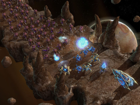 Strategiespiel Starcraft 2: Hydralisken © Blizzard
