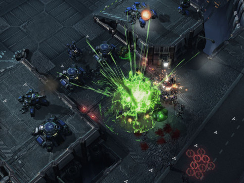 Strategiespiel Starcraft 2: Left 2 Die © Blizzard