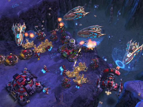 Strategiespiel Starcraft 2: Schwere Kreuzer © Blizzard