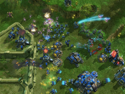 Strategiespiel Starcraft 2: Zerschellen © Blizzard