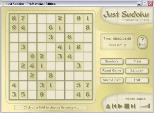 25 kostenlose Download-Spiele Just Sudoku