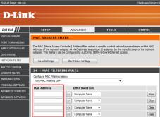 So sichern Sie Ihr Funknetzwerk Die meisten WLAN-Router verf�gen �ber einen Mac-Filter.