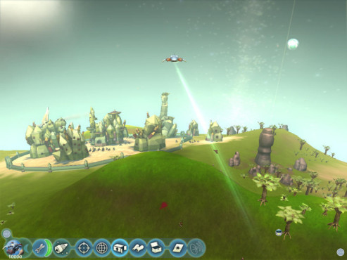Simulation Spore: Transport