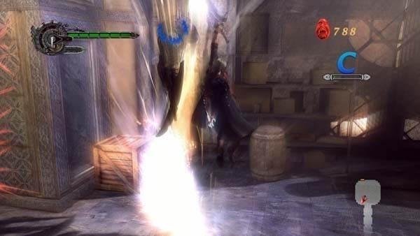 Actionspiel – Devil may cry 4: Effekte