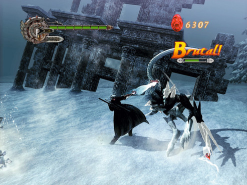 Actionspiel – Devil may cry 4: Frost-Dämon