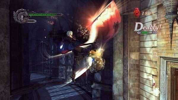 Actionspiel – Devil may cry 4: Spezialattacken