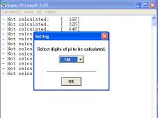 Wie schnell ist Ihr Computer wirklich? Der Prozessor-Test dauert keine Minute: Test 1 M bei Super PI Mod.