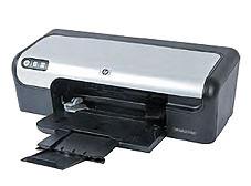 """Hewlett-Packard Deskjet D2460 Guter Textrdrucker mit Schwächen bei den Bildern: der """"Deskjet D2460""""."""
