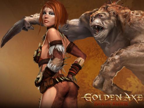 Cyber-Babes Goldenaxe 1 ©Sega