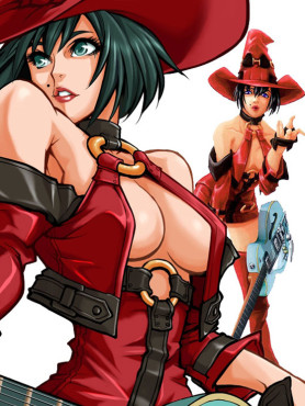 Cyber-Babes Guilty Gear X2 © Sammy Studios