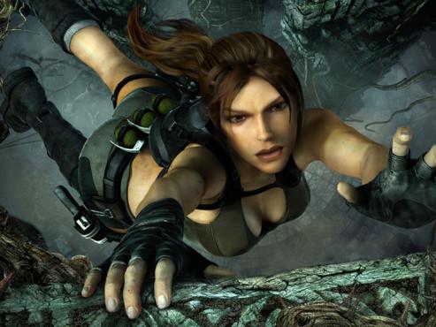 Cyber-Babes Lara ©Square Enix
