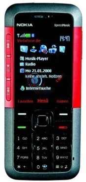 Nokia 5310 Xpress Music: Musikhandy