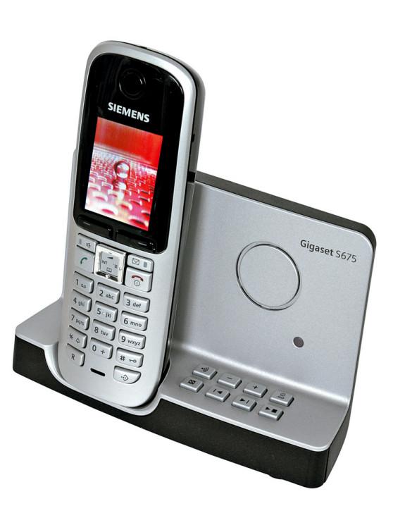 siemens gigaset s675 test strahlungsarmes dect telefon. Black Bedroom Furniture Sets. Home Design Ideas