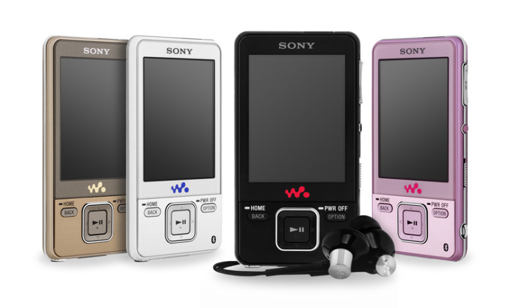 walkman sony stellt video mp3 player mit bluetooth vor. Black Bedroom Furniture Sets. Home Design Ideas