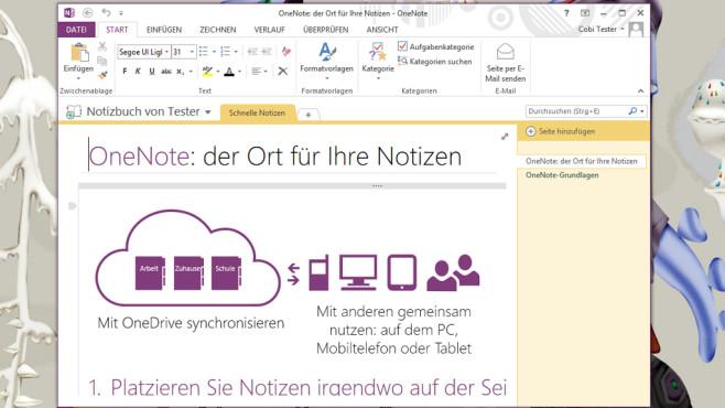 Evernote, OneNote: Praktische Gedächtnisstützen