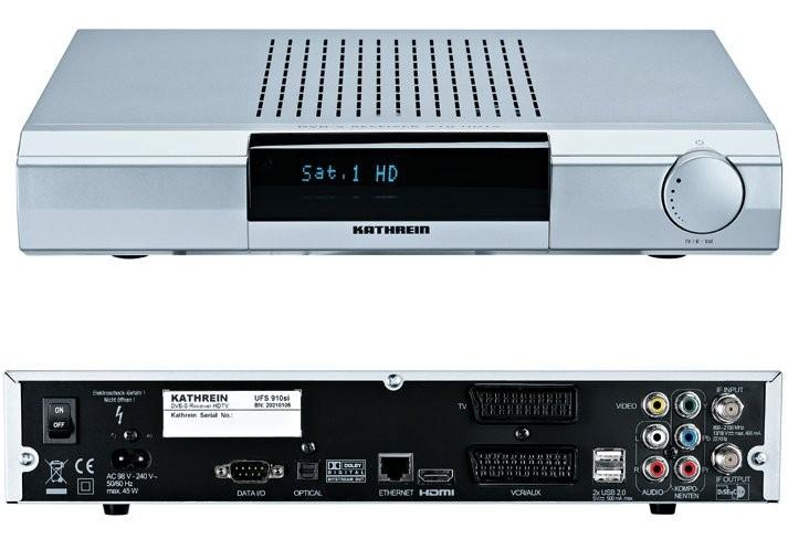 sat receiver kathrein ufs 910 im test audio video foto bild. Black Bedroom Furniture Sets. Home Design Ideas