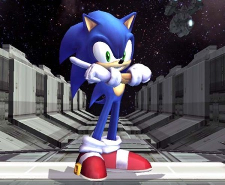 Prügelspiel Super Smash Bros. Brawl: Sonic © Prügelspiel Super Smash Bros. Brawl: Sonic