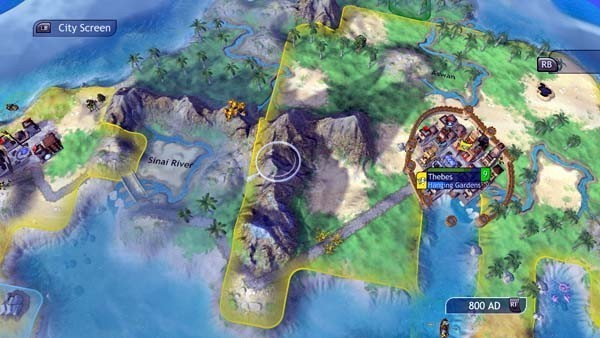 Civilization Revolution, Strategiespiel: Berge