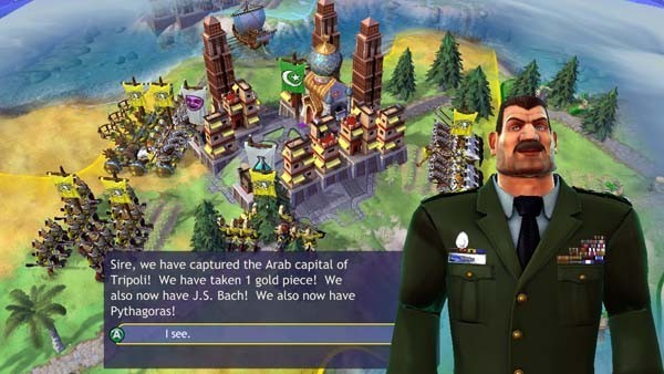 Civilization Revolution, Strategiespiel: General