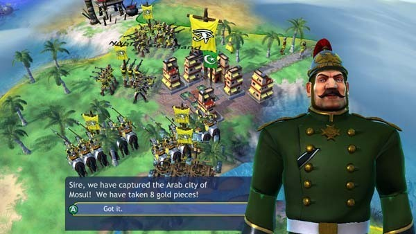 Civilization Revolution, Strategiespiel: Militär