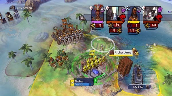 Civilization Revolution, Strategiespiel: Reiter