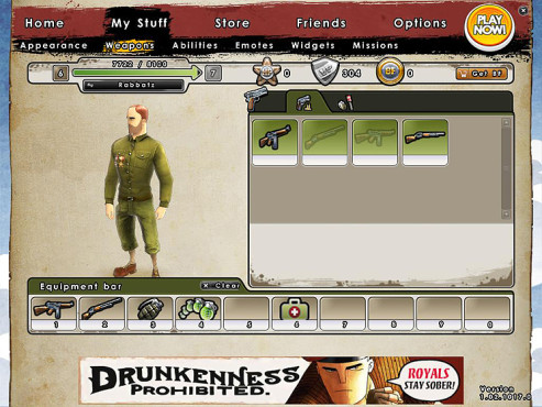 Actionspiel Battlefield Heroes: My Stuff
