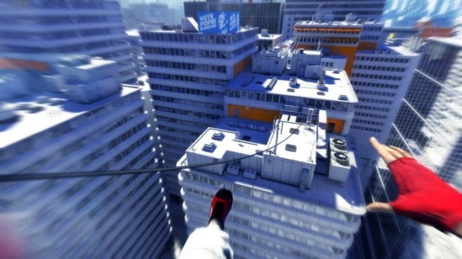 Actionspiel Mirror's Edge: Seilzüge