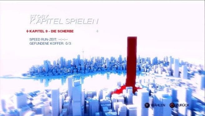 Mirrors Edge: Scherbe