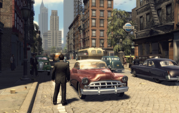 Actionspiel Mafia 2: Auto © Take-Two