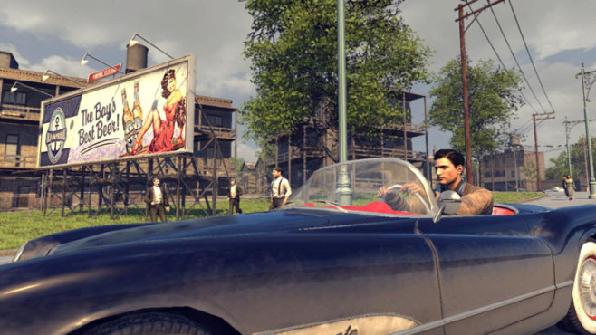 Actionspiel Mafia 2: Cabrio © Take-Two