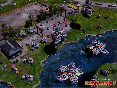 Strategiespiel Command & Conquer – Alarmstufe Rot 3 – Der Aufstand: Fluss