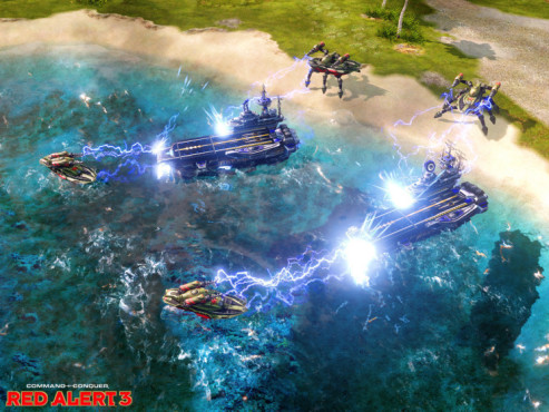 Strategiespiel Command & Conquer � Alarmstufe Rot 3: Flugzeugtr�ger