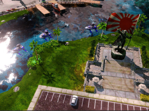 Strategiespiel Command & Conquer – Alarmstufe Rot 3: Fluss