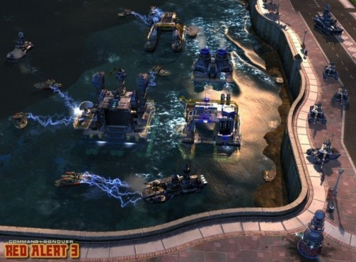 Strategiespiel Command & Conquer – Alarmstufe Rot 3: Marinebasis