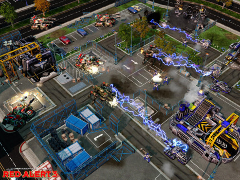 Strategiespiel Command & Conquer � Alarmstufe Rot 3: Tesla-Panzer